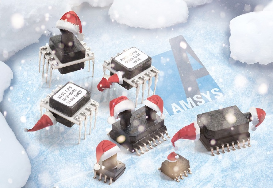 Weihnachtliche Drucksensoren AMSYS