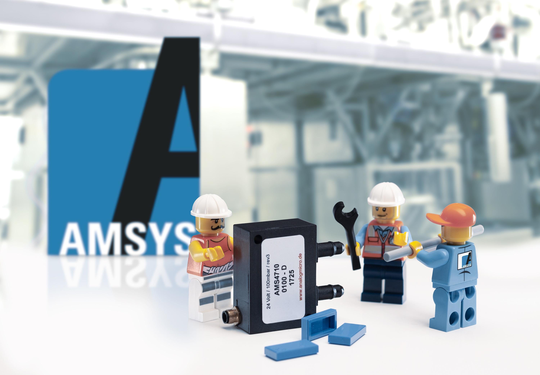 Pressure sensor AMS 4710 by AMSYS