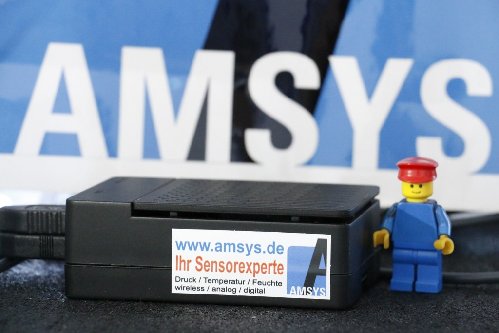 AMSYS Gateway for wireless sensors by AMSYS