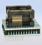 Test socket SOIC pressure sensor