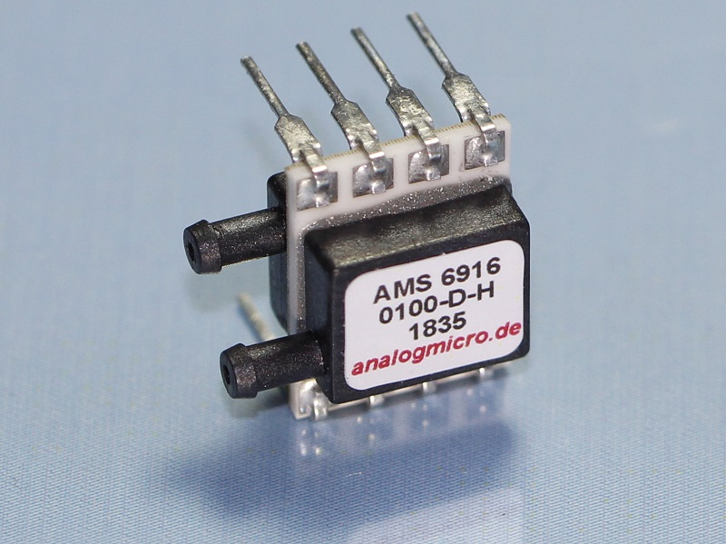 AMS 6916 digital miniature pressure sensor by AMSYS