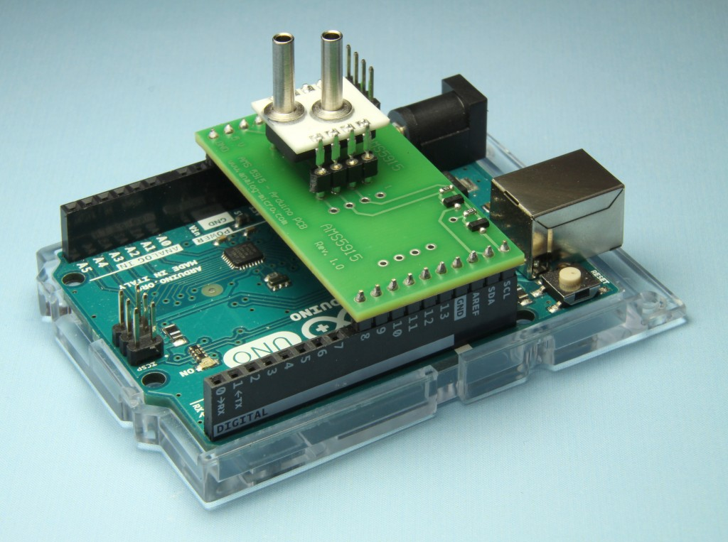 Arduino AMS5915 by AMSYS